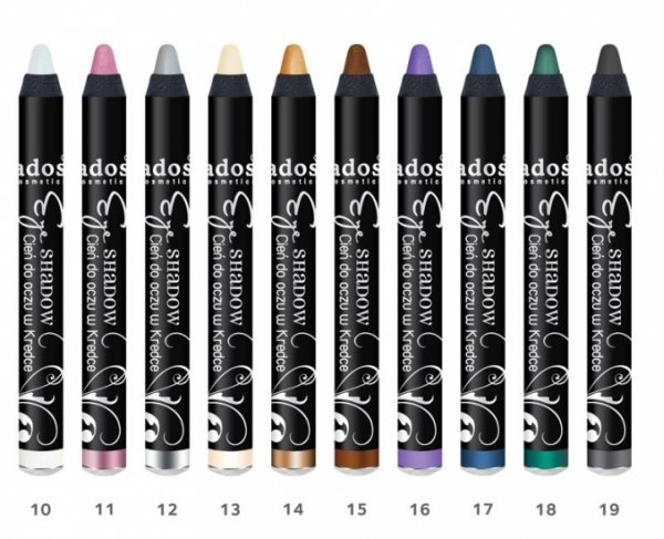PENCIL EYE SHADOW<br>10 varied colors