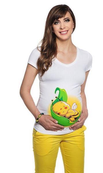 T-shirt terhesség<br>Bee a levél