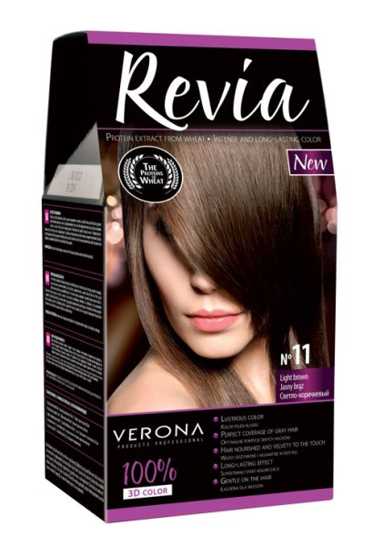 11 Light Brown<br>HAIR COLOR  Revie