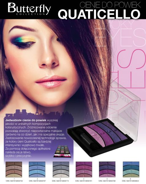 Eye shadow<br>QUATICELLO mix