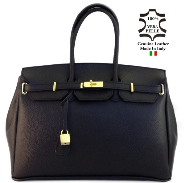 Bag LEATHER art. 1<br> Made in Italy bag<br>handbag