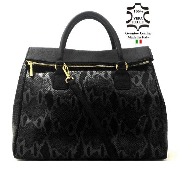 Bag LEATHER art.17<br> Made in Italy bag<br>handbag