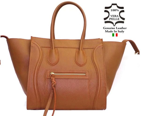 Bag LEATHER art. 3<br>Made in Italy Bag