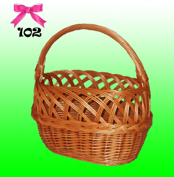 BASKET, wicker<br> basket THE PICNIC,<br>SHOPPING