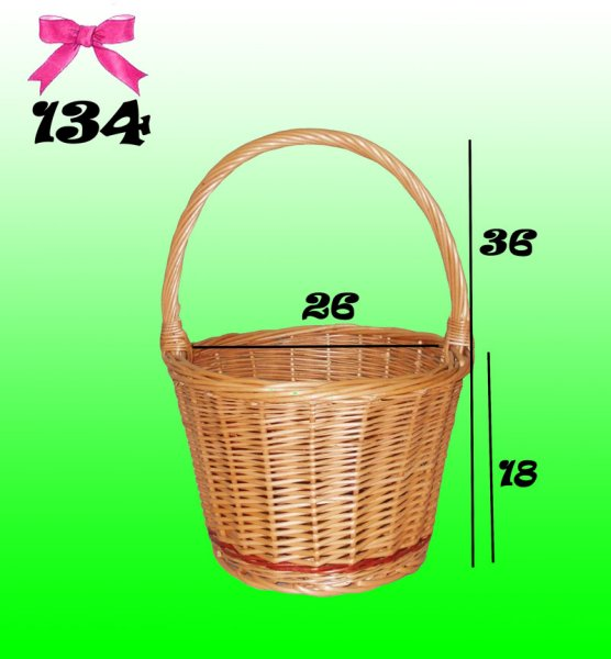 BASKET, wicker<br> basket, Gift, THE<br>FLOWERS
