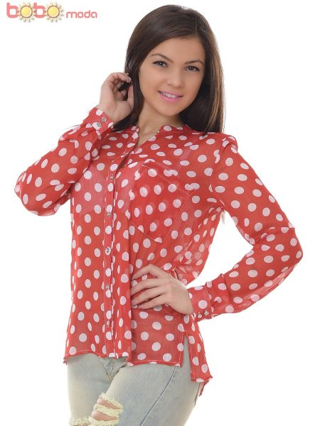 Chiffon Blouse<br> Shirt with BIG<br>SIZES included