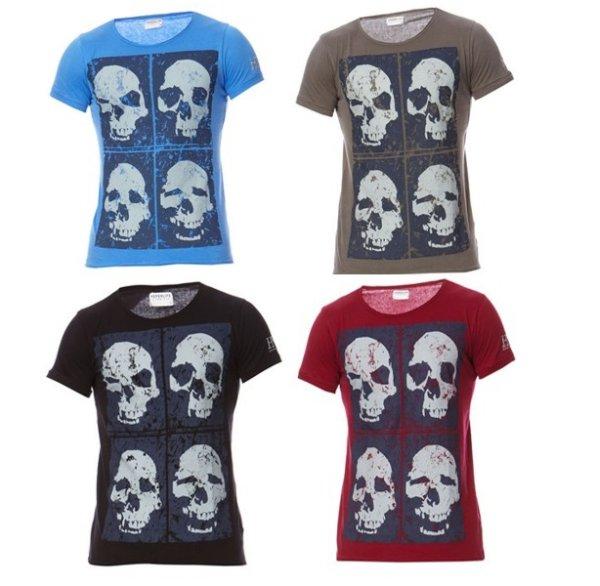 T-Shirt mit kurzen<br>Ärmeln briskull