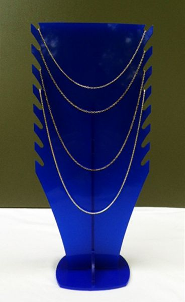 Jewelry stand<br> necklace, acrylic,<br>520