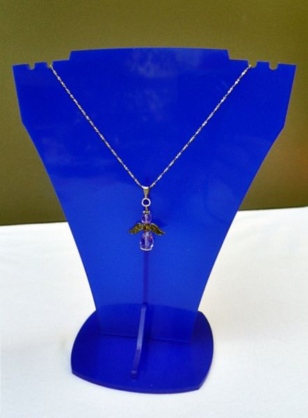 Jewelry stand<br> necklace, acrylic,<br>510