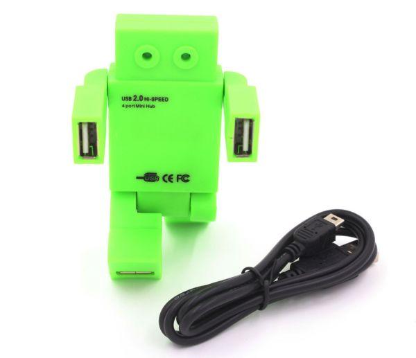 USB 4-Port USB 2.0<br>Mini Hub Figure