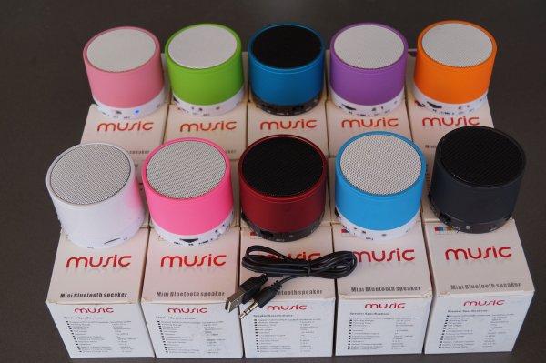 Bluetooth Speaker<br> Box Speaker with<br>MicroSD AUX