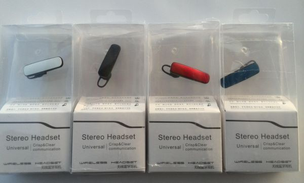 Bluetooth headset<br> complete with<br>In-Ear Headphones