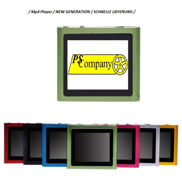 MP4 MP3 Player<br> Mini 1.8 inch TFT<br>with Video &amp;