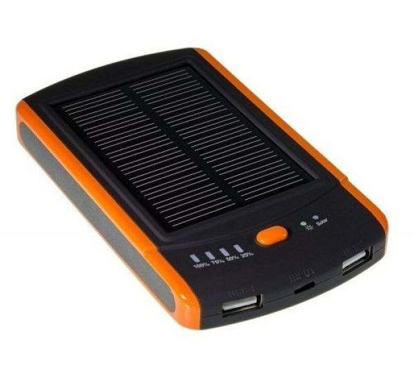 Solar Power Bank<br> Akku 6000mah<br>Tablet Kamera Foto