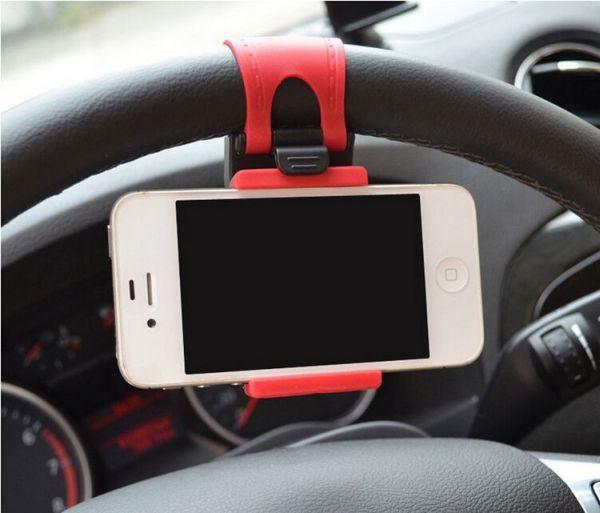 Car Steering Wheel<br> Universal phone<br>holder for car
