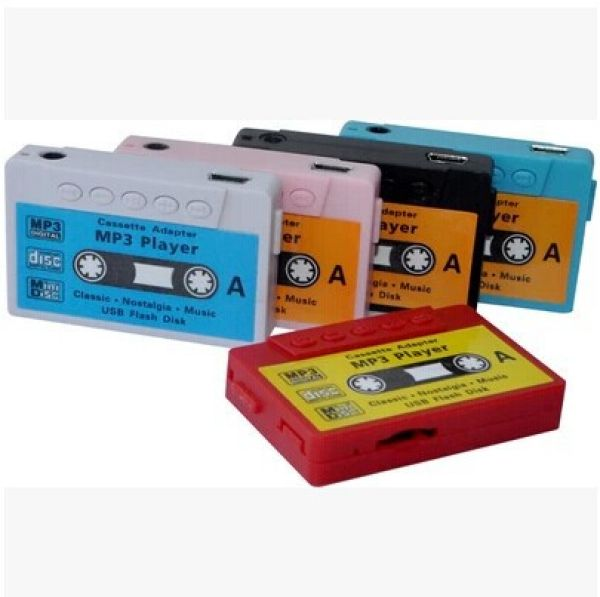Mp3 Player<br> Cassette Style<br>Micro SD AUX