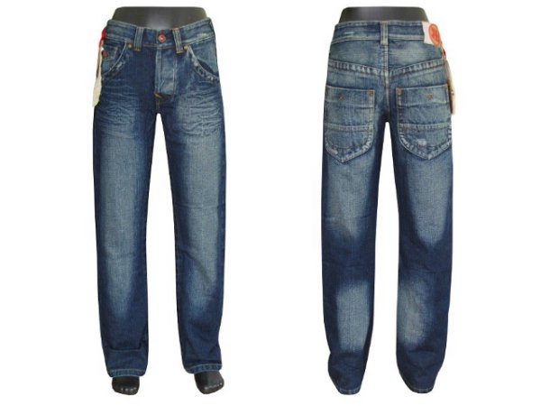 Lange Hosen<br> Herren-Jeans 100%<br>Baumwolle Jeans