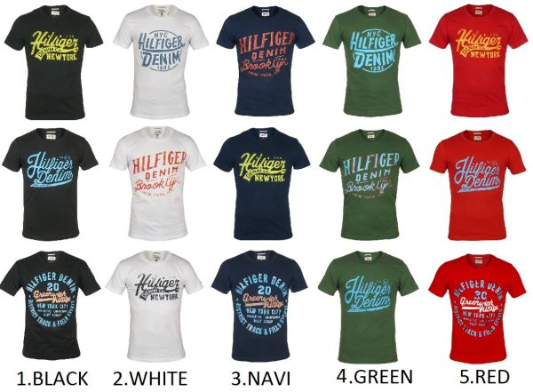 Tommy Hilfiger<br>T-shirt male- stock