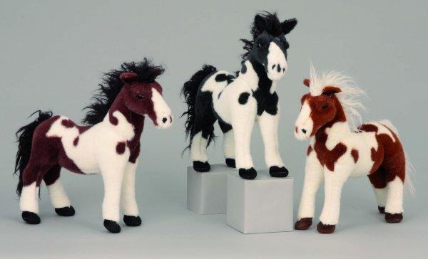 Horse standing<br> 33x33cm plush<br> decor Home &amp; ...