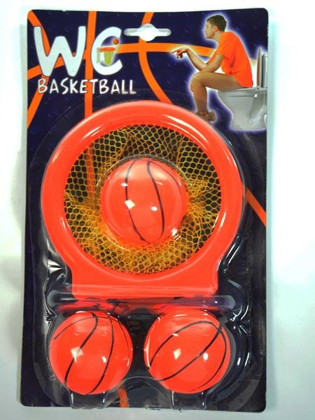 WC Basketball with<br> suction cups<br>27x16,5cm