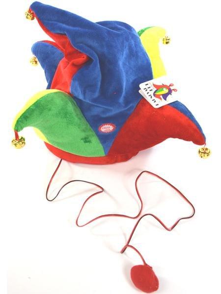 Dansen Carnaval<br> hoed 4 kleuren +<br>kabel 38x37cm