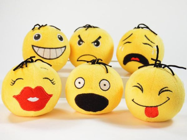 EmoteBalls Plush<br>with Sounds 9cm