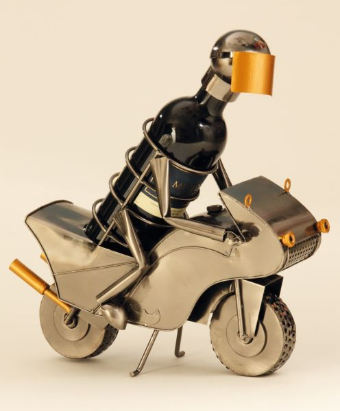 Wine bottle holder<br> motorcyclists<br>household kitchen