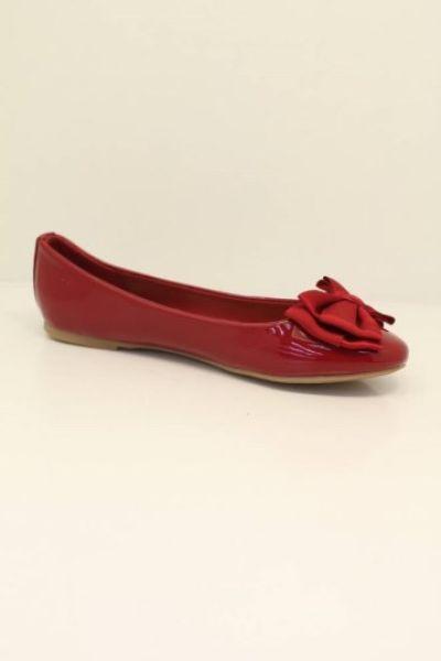 Chaussures Femmes,<br> ballerine de B049<br>rouge