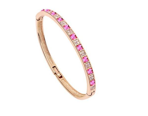rosé vergoldet<br> Armband 18 Karat<br>Mont