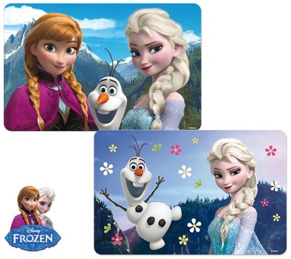 Set 3D-Tabelle<br> Frozen Elsa Anna<br>Olaf
