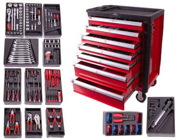 Tool Trolleys /<br> tool cart with<br>chrome vanadium