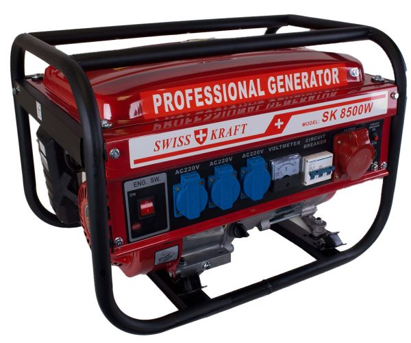 -StromerzeugerSK<br> 8500W - 6500 Watt<br>/ 6,5 PS / 4500W