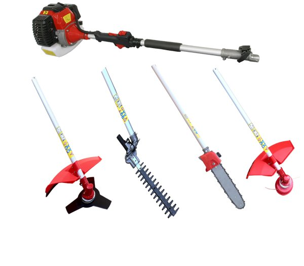 Gasoline brush<br> cutter 4in1 hedge<br>trimmer chainsaw