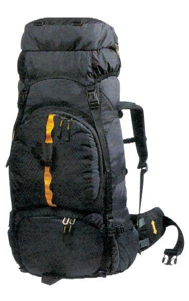Trekking-Rucksack<br>  Mountain  65<br>ltr., grau mit ora