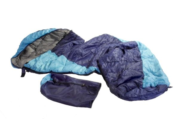 Schlafsack<br>  Titisee  blau mit<br>Tragebeutel