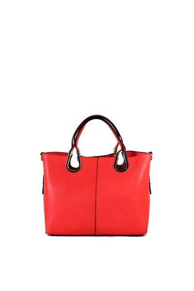 Purse 2 in 1 Red<br>leather effect