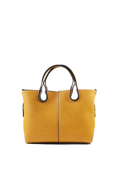 Purse 2 in 1<br> Yellow<br>Leather-effect